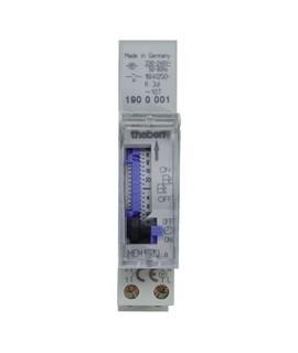 THEBEN Interruptores horarios analogicos MEM 190a 156 7 dias 3 dias 1 interruptor 16 A