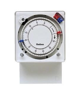 THEBEN Interruptores horarios 72 x 72 superficie o trascuadro caballetes intercambiables TM 179h 155 60 m. NO 1 conmutador 10 A