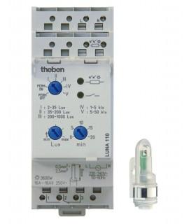 THEBEN Interruptores crepusculares carril DIN LUNA 110 Sup