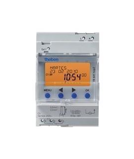 THEBEN Interruptores anuales digitales 4 modulos carril DIN TR 641 top2 155