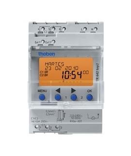 THEBEN Interruptores anuales digitales 4 modulos carril DIN TR 642 top2 155