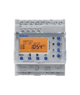THEBEN Interruptores anuales digitales 4 modulos carril DIN TR 644 top2 155