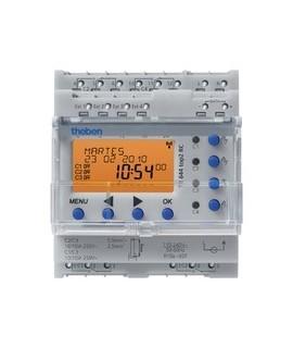 THEBEN Interruptores anuales digitales 4 modulos carril DIN TR 644 top2 RC 155