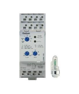 THEBEN Interruptores crepusculares carril DIN LUNA 110 Sup 12-24V 151