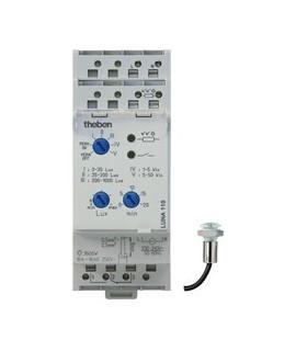 THEBEN Interruptores crepusculares carril DIN LUNA 110 Emp 12-24V 151