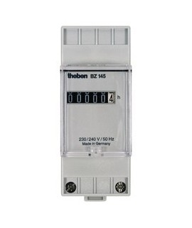 THEBEN Cuenta horas BZ 145 157 Sin retorno a cero 2 mod. Carril DIN 35 mm