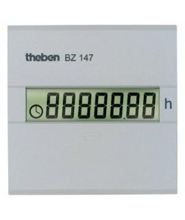 THEBEN Cuenta horas BZ 147 24V 157 Digital. Sin retorno a cero montaje trascuadro 45 x 45 mm a 12-24 V CC