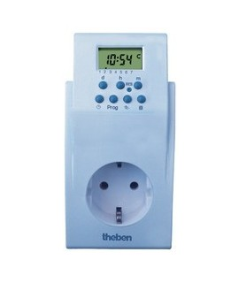 THEBEN Automatas programables TIMER 020S 156 24h/7dias 500 h Digital 36 memorias con programa aleatorio
