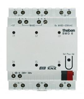 THEBEN Entradas binarias BMG 6 KNX 487