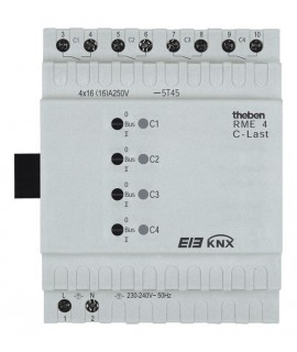 THEBEN Actuadores binarios RME 4S KNX C-Load