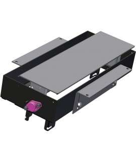 BACHMANN TOP FRAME Caja de montaje pequeña, sin marco exterior, RAL9006