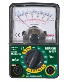 Extech Muntimetro Analogico 38070