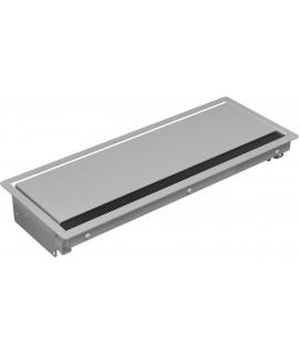 BACHMANN CONI - Caja de montaje grande, gris plateado