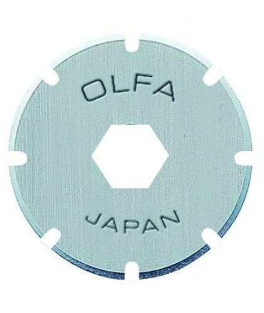 Cuchilla circular Acero inox. Odulada OLFA