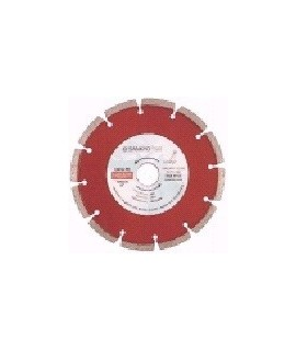 SANKYO Disco para hormigón reforzado diámetro 180 eje 22 mm