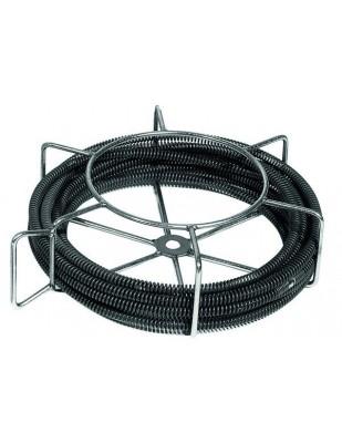 REMS 6 Espirales desatascadoras de tubo en portaespirales para tubo Ø 25-125 mm