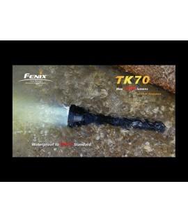 Linternas Fénix TK70 2200 Lúmenes 3 Leds Cree XM-L 6 modos