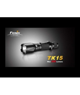 Linternas Fénix TK15 400 lumens Led XP-G S2, 5 modos. Puede montar pulsador remoto