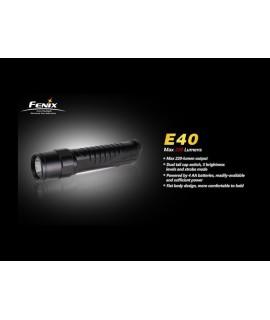 Linternas Fénix E40 220 lúmenes Led Cree XP-E LED, 4 modos