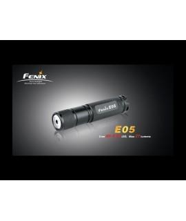 Linternas Fénix E05 27 lúmenes Led Cree XP-G R4, 1 modo. Color negra