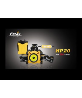 Linternas Fénix HP20 230 lúmenes. Led Cree XP-G R5, 7modos. Incluye difusor