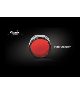 Linternas Fénix Filtro rojo para serie PD30, LD20, LD10, LD12, LD22, PD22