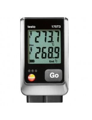 Testo Registrador de temperatura de 2 canales testo 175 T3