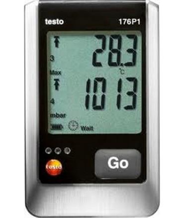 Testo Registrador de 5 canales de presión absoluta testo 176 P1