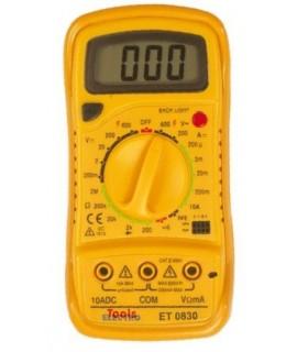 Electro Tools Multímetro Digital Compacto ET0830