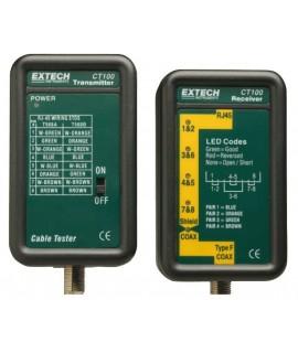 Extech Comprobador cables de datos CT100