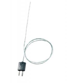 Termopar con adaptador T/P, flexible, 800 mm de longitud