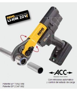 REMS Mini-Press 22 V ACC Li-lon Basic Pack