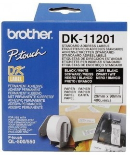 Rollo de etiquetas precortadas DK11201