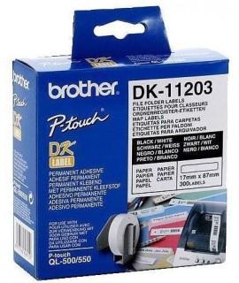 Rollo de etiquetas precortadas DK-11203