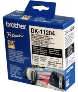 Rollo de etiquetas precortadas DK-11204