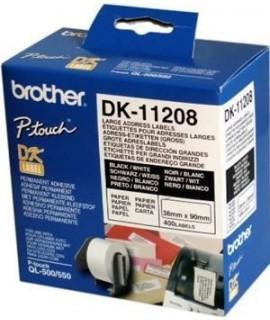 Rollo de etiquetas precortadas DK-11208