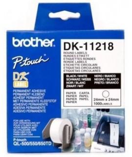 Rollo de etiquetas precortadas DK-11218
