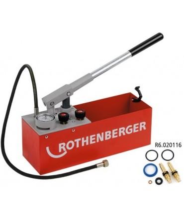 Bomba de Comprobación Manual RP 50-S Rothenberger
