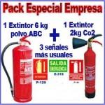 Pack anti-incendios