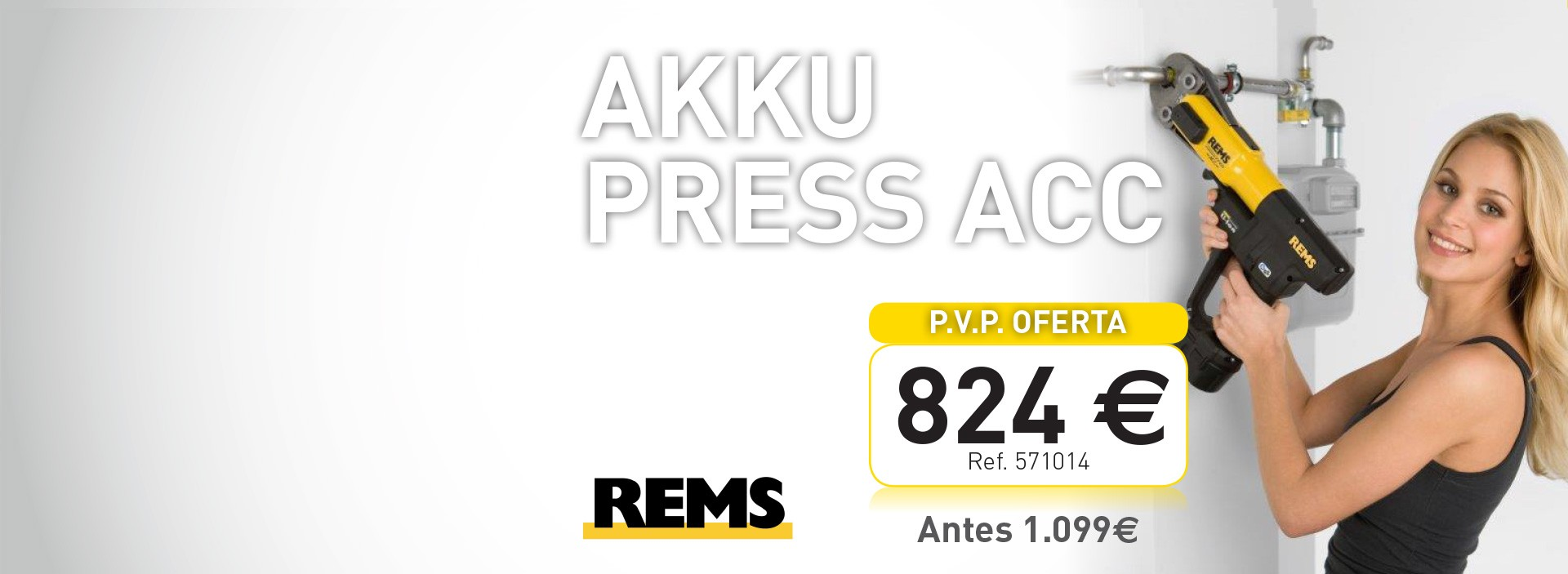 AKKU PRESS ACC LI ION BASIC REMS
