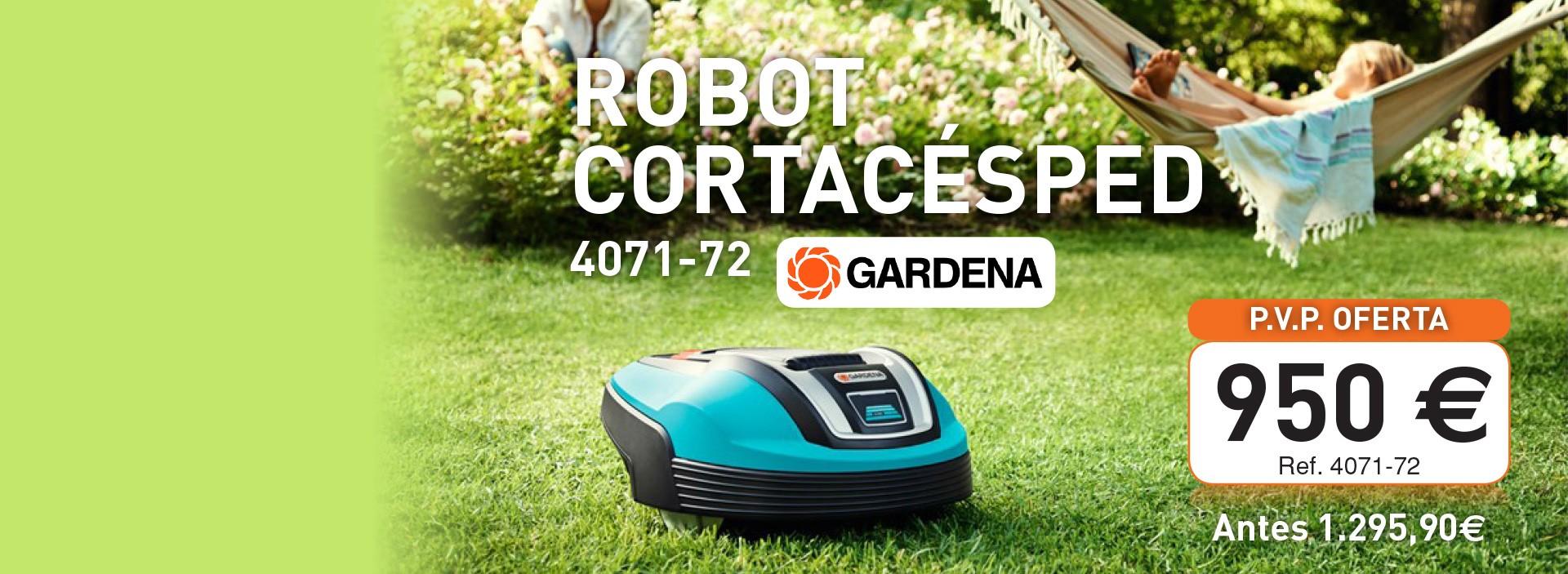 Robot cortacesped GARDENA