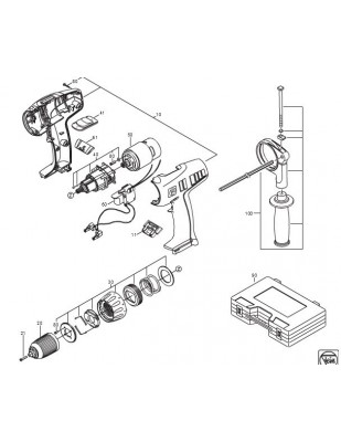 Fein MOTOR 1.5/2.0KW 3X230V