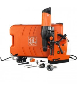 Fein KBM 80 U Unidad perforadora magnética hasta 80 mm y roscadora