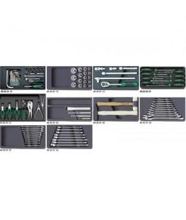 STAHLWILLE Surtido de herramientas y juegos en bandejas de plástico