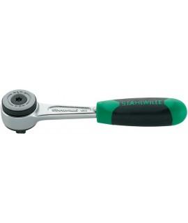 STAHLWILLE Carraca 1/4  de dentado fino 411-2K 1/4