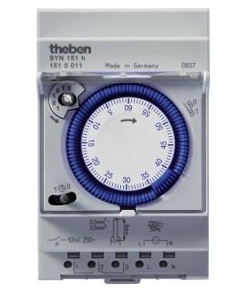THEBEN Interruptores horarios analógicos 3 modulos