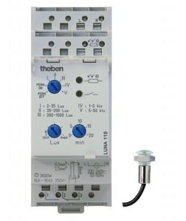 THEBEN Interruptores crepusculares carril DIN LUNA 110 Emp