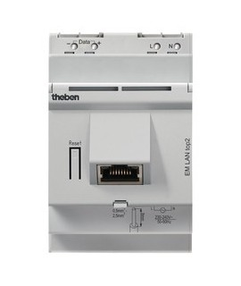 THEBEN Interruptores anuales digitales 4 modulos carril DIN EM LAN top2 155