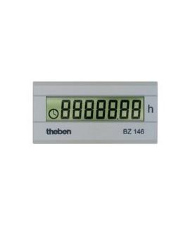 THEBEN Cuenta horas BZ 146 157 Digital. Sin retorno a cero montaje trascuadro 22 x 45 mm