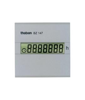 THEBEN Cuenta horas BZ 147 157 Digital. Sin retorno a cero montaje trascuadro 45 x 45 mm
